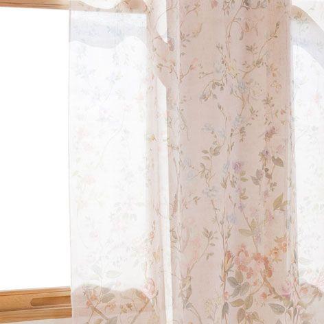 Cortina lino primaveral cortinas decoraci n zara - Cortinas de bano zara home ...