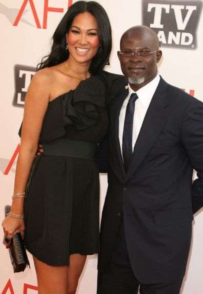 Djimon hounsou and kimora lee simmons confirm. join