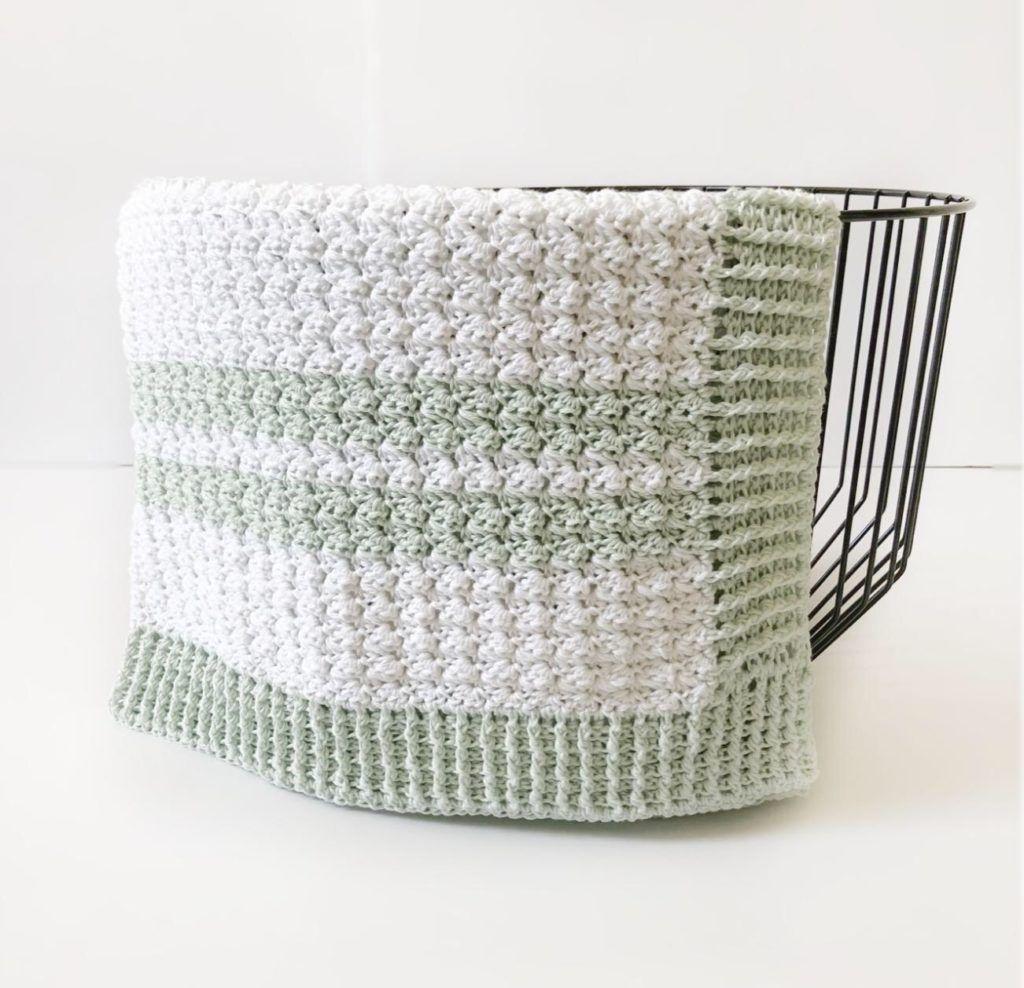 Crochet Sedge Stitch Baby Blanket | Crochet | Pinterest | Mantita ...