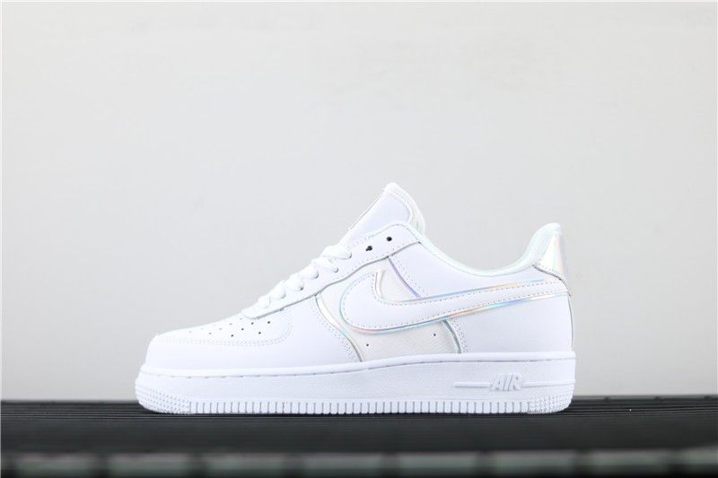 Berenjena sensación Fontanero  Air Force 1 '07 LV8 4 'Triple White : AT6147 100 - Nike Air Force | Nike  air force, Nike air, Nike