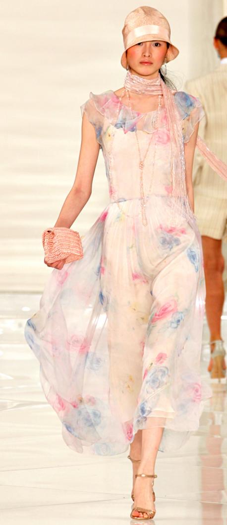 Beautiful vintage style dress Ralph Lauren