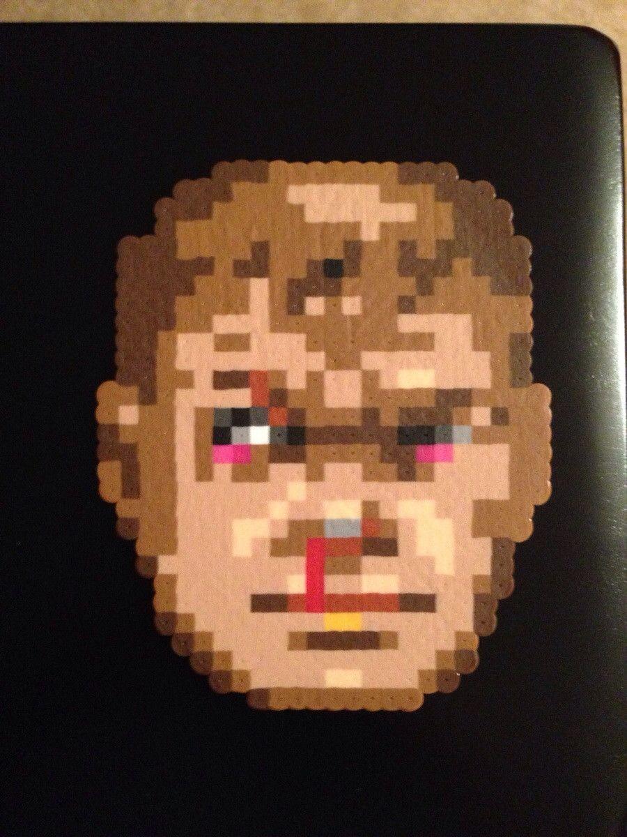 Doom Guy Doom Perler Beads Perler Bead Art Perler Art