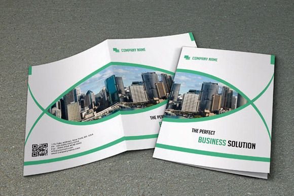 Corporate Business Brochure V Brochures And Brochure Template - Bi fold brochure template free