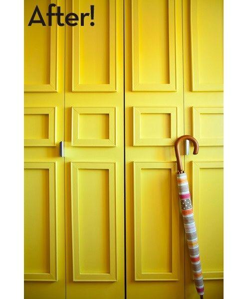 6 Closet Door Diy Transformations Pinterest Closet Doors Board