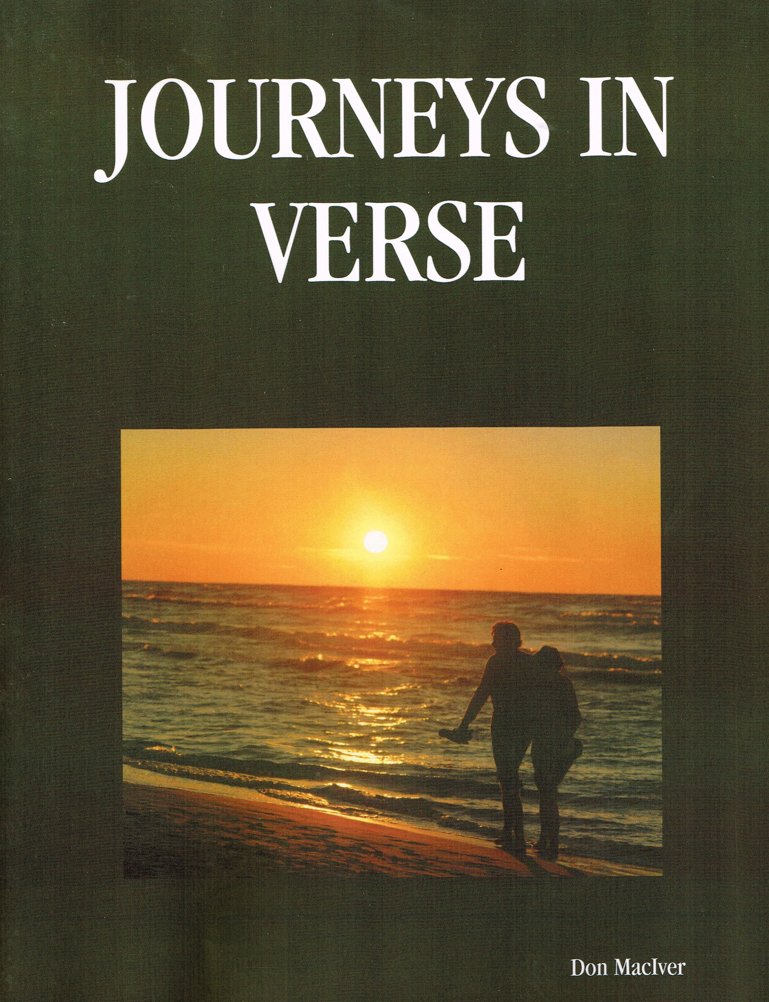 My first published book of original works of poetry and prose from 2004, 'Journeys In Verse' is where my writing all began. This edition is found at www.lulu.com/spotlight/whereeaglessoar
