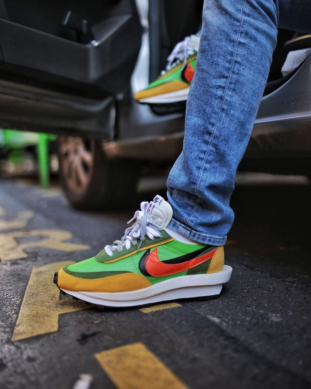 The Sacai X Nike Ldv Waffle Is Dropping This Week Are You Copping By Miaousbarskdale Nikewaffle Sacai Nike Waffle Shoes Sneakers Nike Mens Nike Shoes