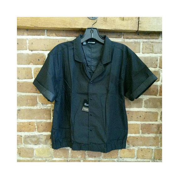 f0f453195 Never worn black chams DE baron snap up 80s shirt | revolveybor.etsy ...