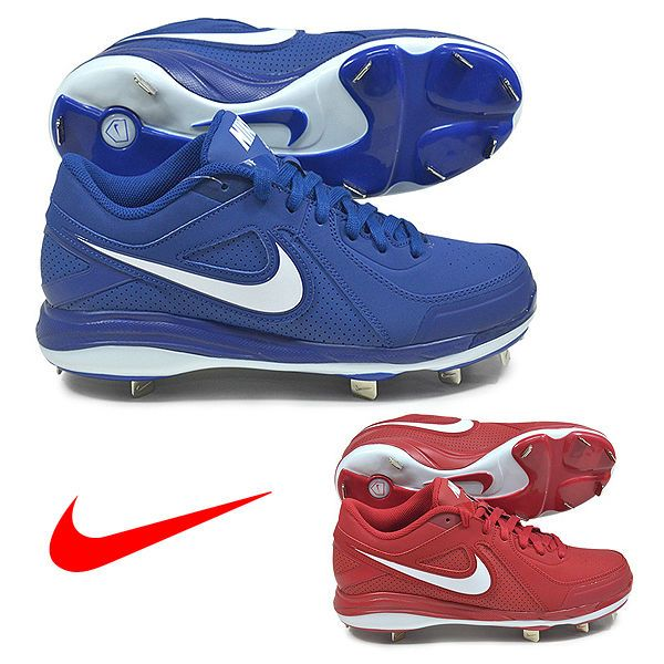 Mens Nike MVP Pro Metal Baseball Cleats Red Blue White Size 13 14 524641  610 410