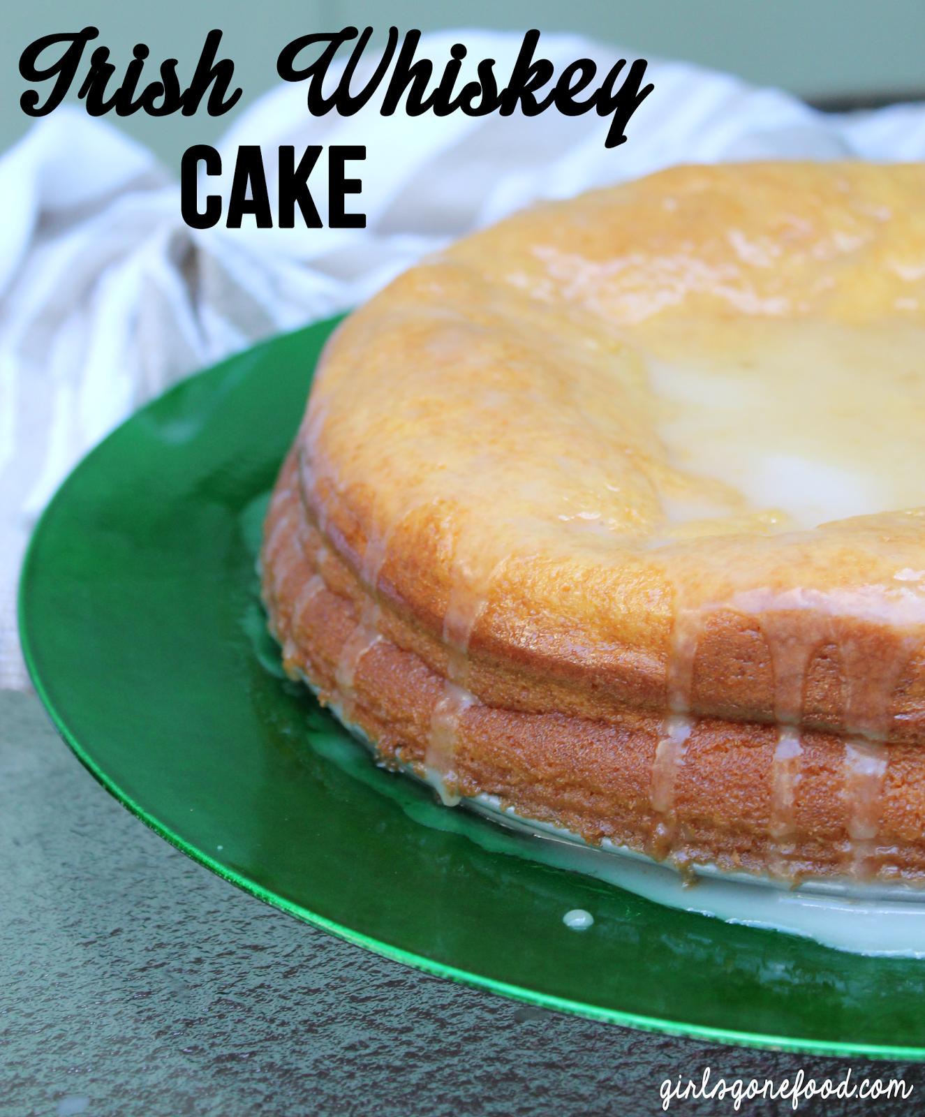 Whiskey Cake, Irish Recipes, Dessert