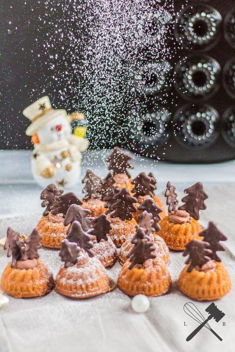 LEBKUCHENGUGL MIT SCHOKOLADE - Law of Baking #pumpkinmuffins