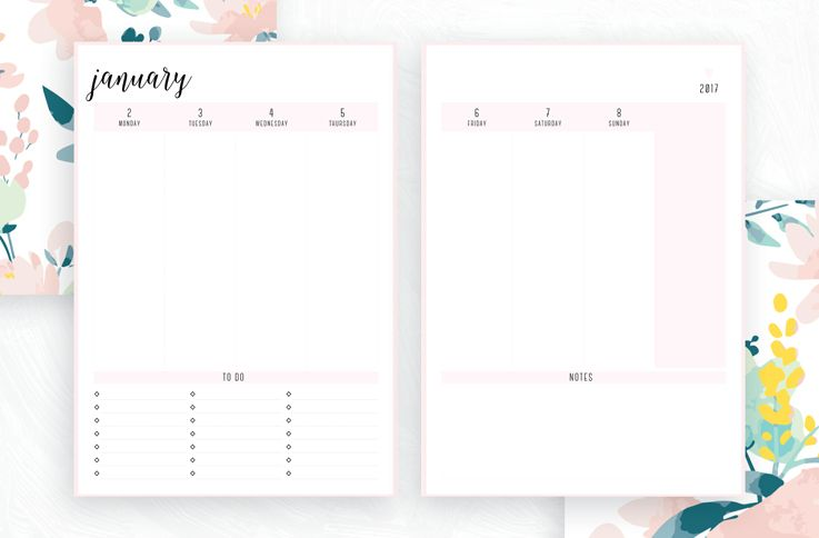 Free Printable Irma 2017 Weekly Planner    Eliza Ellis Available - free printable weekly planner