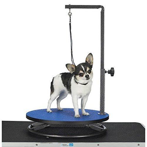 Dog Grooming Table Arm Small Pet Rubber Tabletop Adjustable Trimming Stand Cat Bano Para Perros Perros Peluqueria Canina