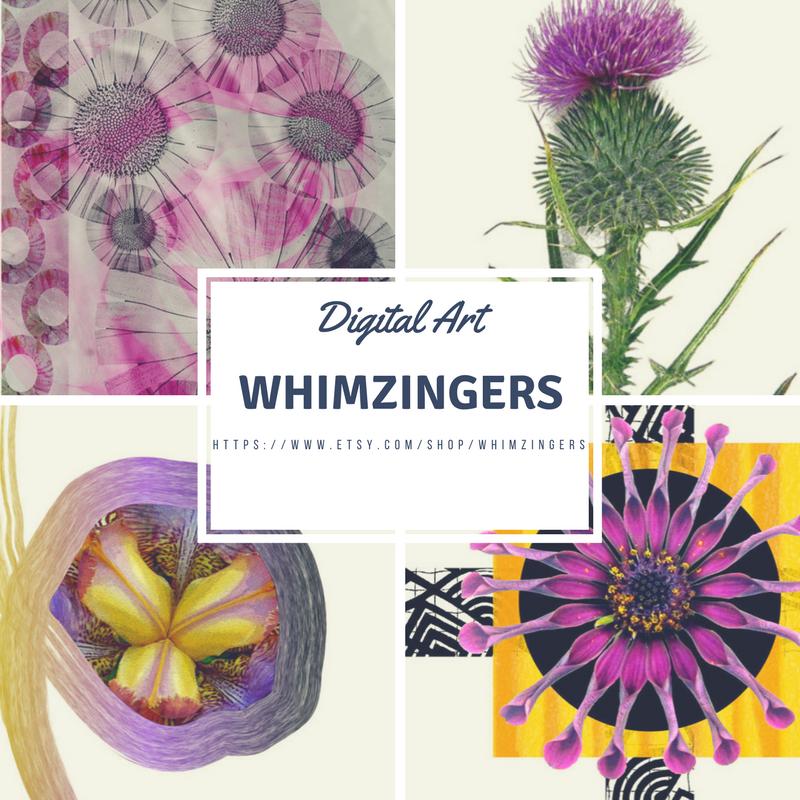 WhimZingers Digital Art, Cards, Bookmarks, Decor, Women's Clothing