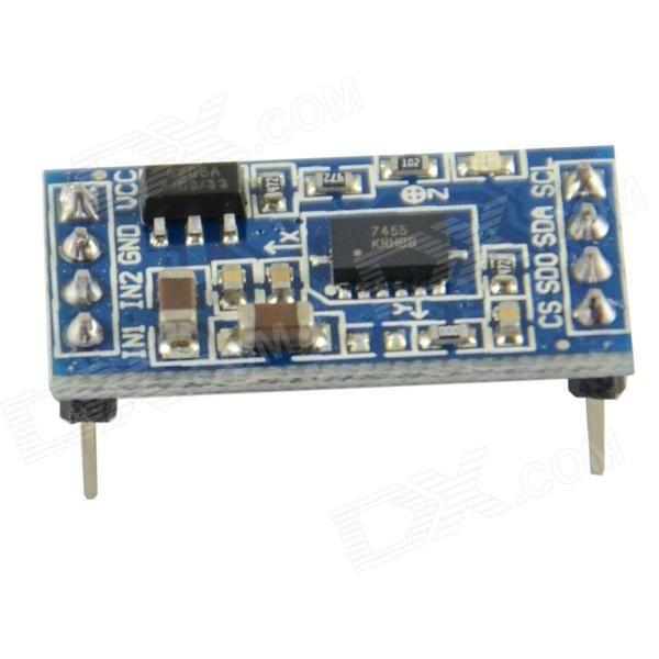 MMA7455 Digital Tilt Angle Sensor Acceleration Module I2C