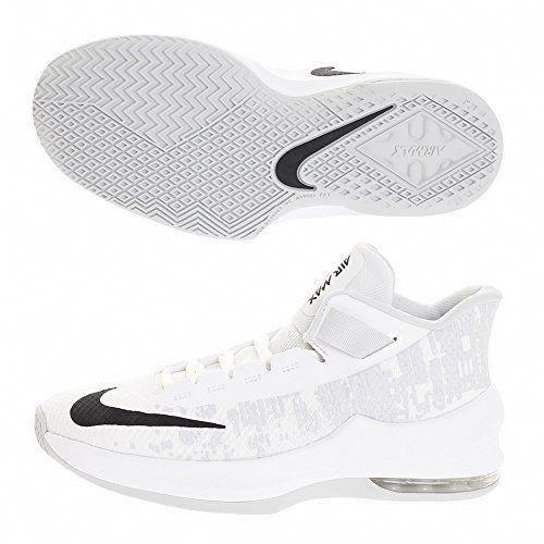 buy online 40257 7e276 Nike Air Max Infuriate 2 Mid Boys' Basketball Shoe (3.5y-7y ...