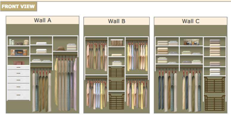 Diy Closet System Plans Kaleidoscope Living Diy Closet System