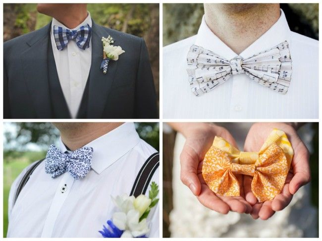 A Collection Of 30 Wedding Bow Tie Ideas Bow Tie Wedding Modern Wedding Styles Unique Bow Tie
