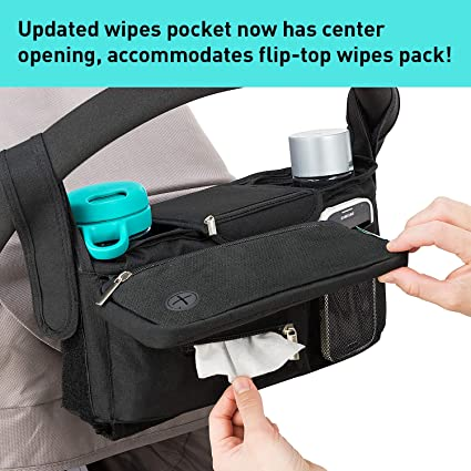 AmazonSmile NonSlip Stroller Organizer With Cup Holders
