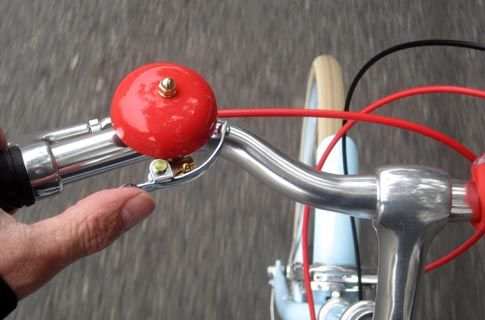 My New Public Red Bike Bell Weeeee Bicycle Accessories Red