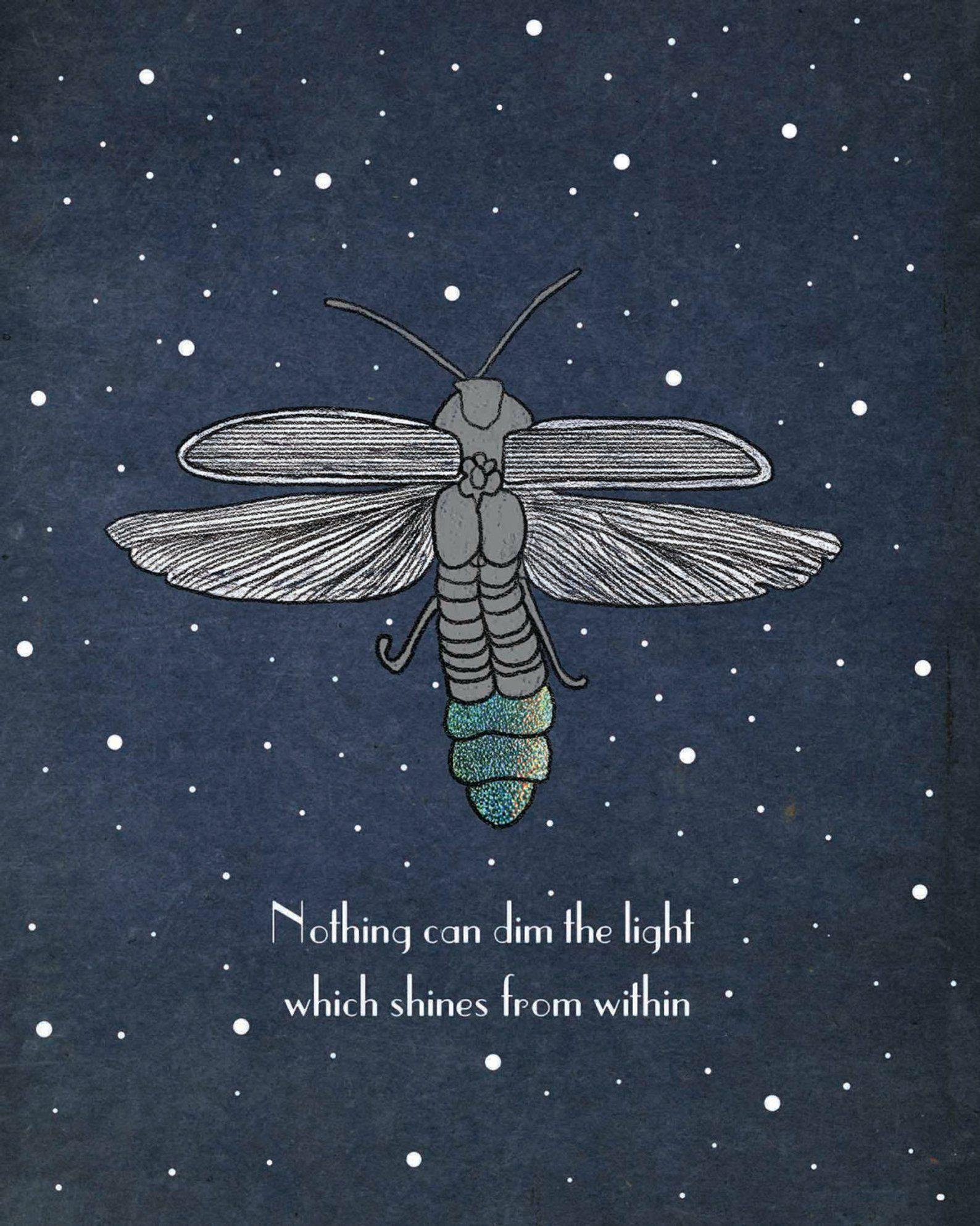 Firefly Printable Inspirational Art Maya Angelou Quote