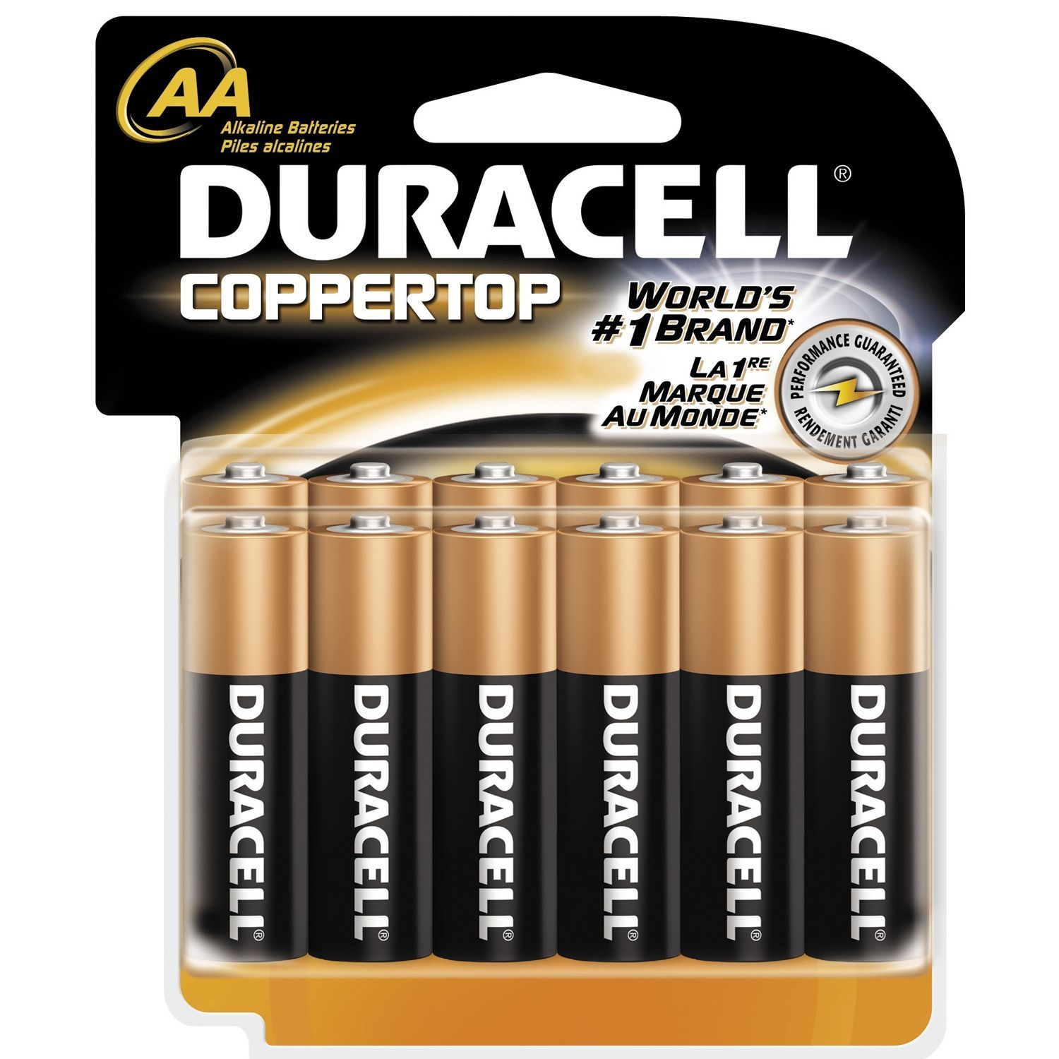 Duracell Aa General Purpose Battery Pack Of 12 Grey