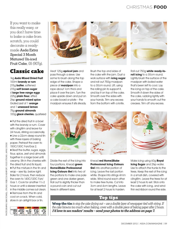Asda Magazine December 2012 | December and Cake