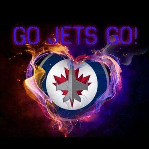 Go Jets Go Jets Hockey Winnipeg Jets Hockey Winnipeg Jets