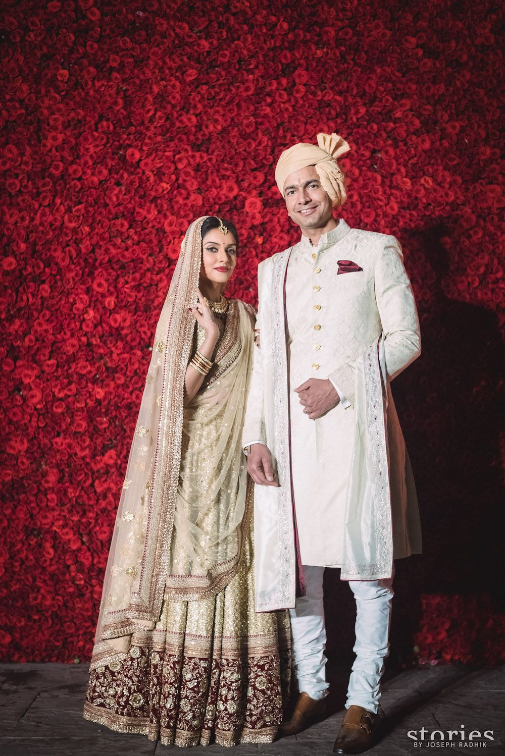 These Beautiful Wedding Photos Of Asin And Rahul Sharma Will Put A Big Glow On Your Face Sabyasachi Bride Celebrity Bride Celebrity Weddings
