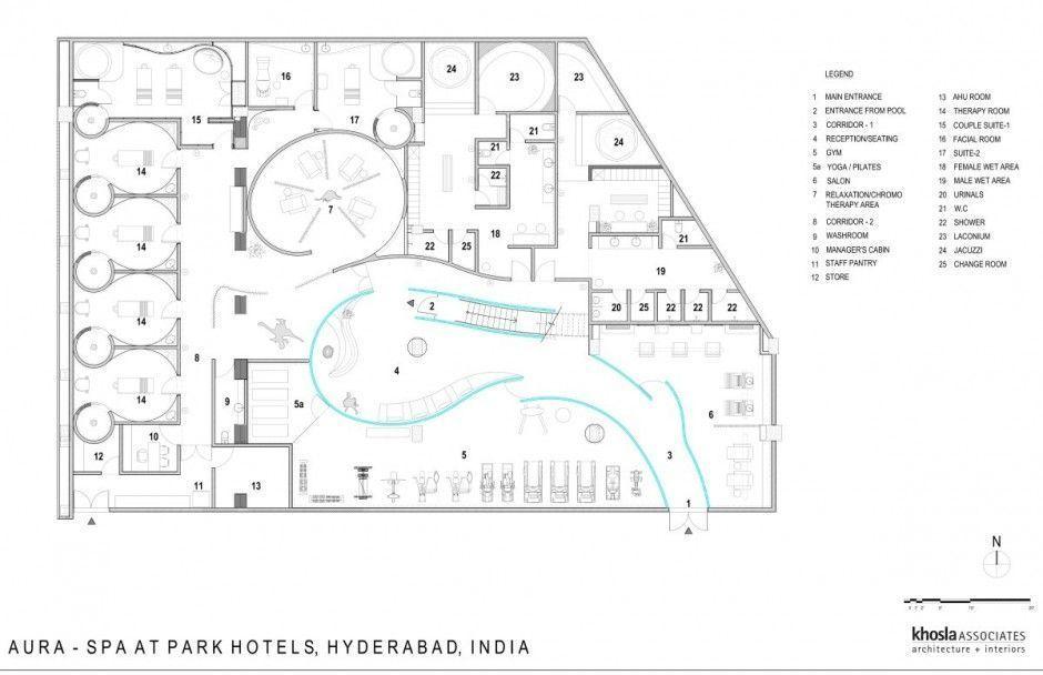 Aura Spa Design by Khosla Associates – Architecture & Interior Design Ideas and …