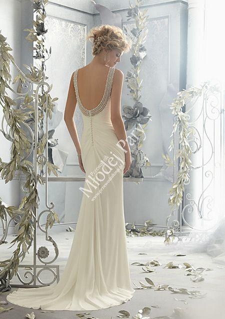 Suknia ślubna Mori Lee Model 6787 Salon Sukien Loretta Wrocław