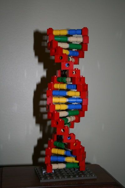 DNA Model out of LEGO