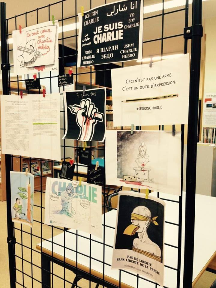#JesuisCharlie au Lycée Mlf Molière de Saragosse http://on.fb.me/1wBDGuf
