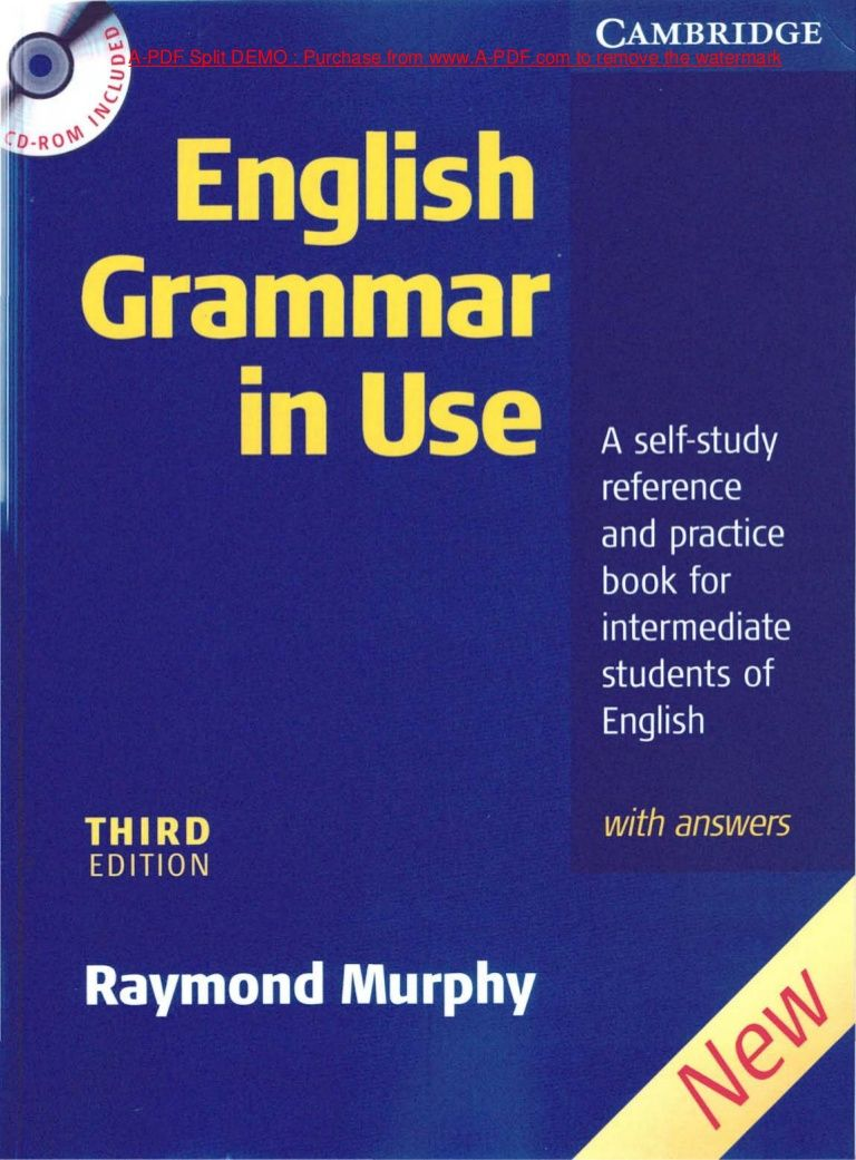Cambridge english grammar_in_u Kitap dizileri, Ingilizce