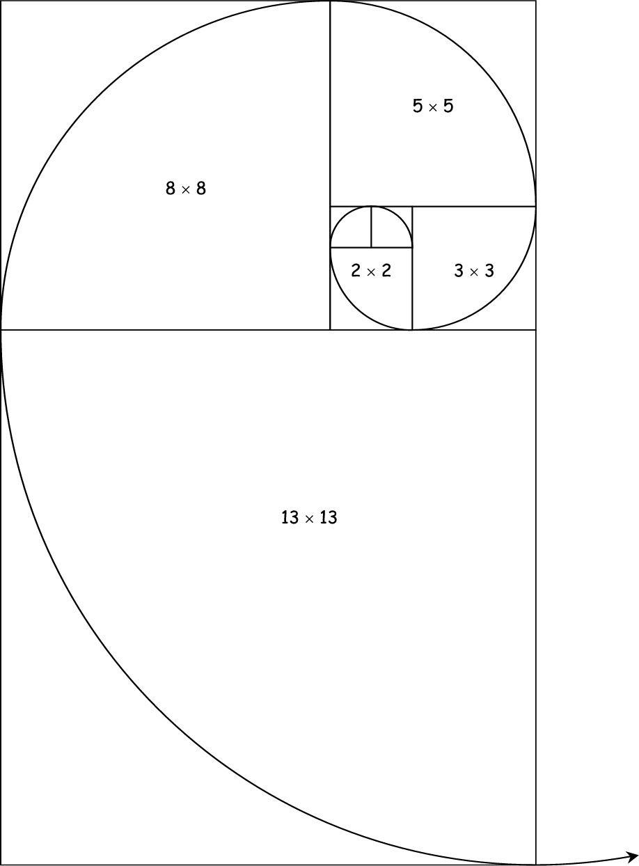 Number Patterns Fibonacci Spiral Arte De Geometría Espiral De Fibonacci Rectangulo Aureo