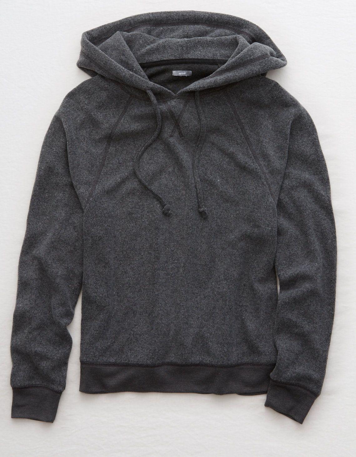 Aerie Dolman Plush Hoodie Dark Heather Medium 32 Hoodies Sweatshirts Hoodie Mens Outfitters [ 1462 x 1140 Pixel ]