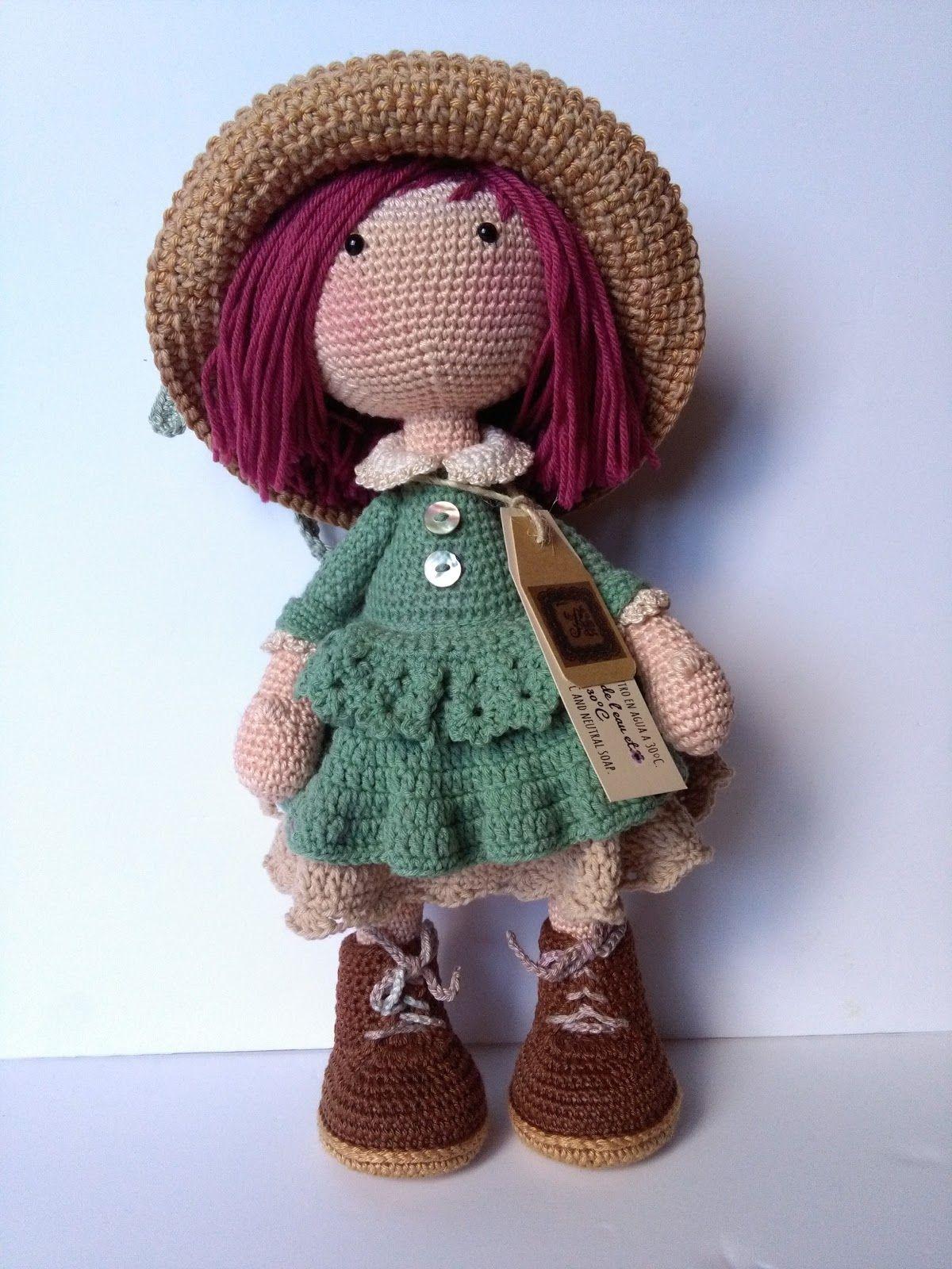Con margaritas en el sombrero... | Fotos | Pinterest | Muñecas ...