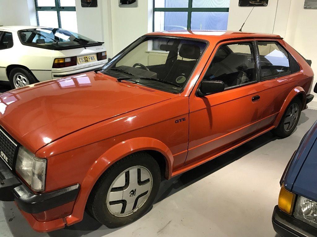 1984 Astra GTE SEE EBAY LISTING >> #vauxhall #astra #gte #astragte ...