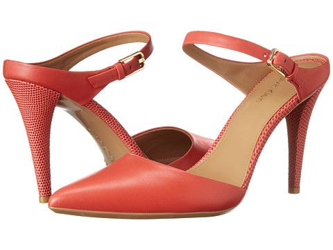 Calvin Klein Ginnie Lacquer Red Cow Silk - Zappos.com Free Shipping BOTH  Ways