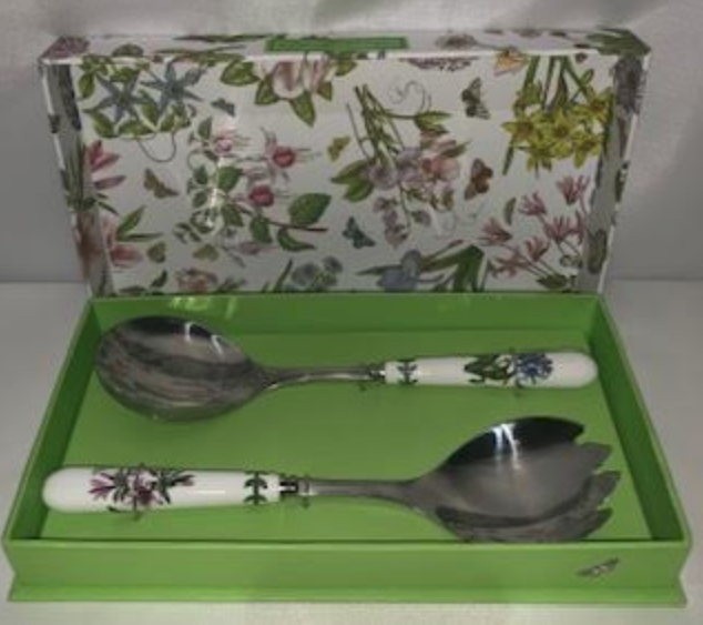 Free Shipping Portmeirion Botanic Garden Salad Server Set