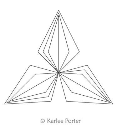 Equilateral Triangle 24 Karlee Porter Digitized Quilting Designs Quilting Designs Doodle Art Designs Digital Pattern Design