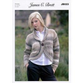 a3e58029a07e Bolero in James C. Brett Marble Chunky (JB023) £2.99
