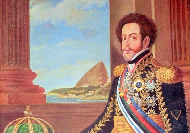 Pedro I do Brasil, Pedro IV de Portugal -  o Rei que viveu 36 anos e 34 filhos -       1º. casamento, Maria da Glória (4 abril 1819 - 15 novembro 1853), rainha de Portugal,      João Carlos (6 de março de 1821 - 4  fevereiro 1822);     Januária Maria (11 março 1822 - 13 março 1901),      Paula Mariana (17 fevereiro de 1823 - 16 de janeiro de 1833);     Francisca Carolina (2 de agosto de 1824 - 27 março 1898),      Pedro de Alcântara (2 dezembro 1825 - 5 dezembro 1891), 2º.imperador do…