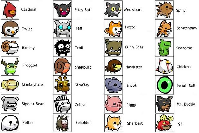 castle crashers characters - Google Search | Mobile Design ...