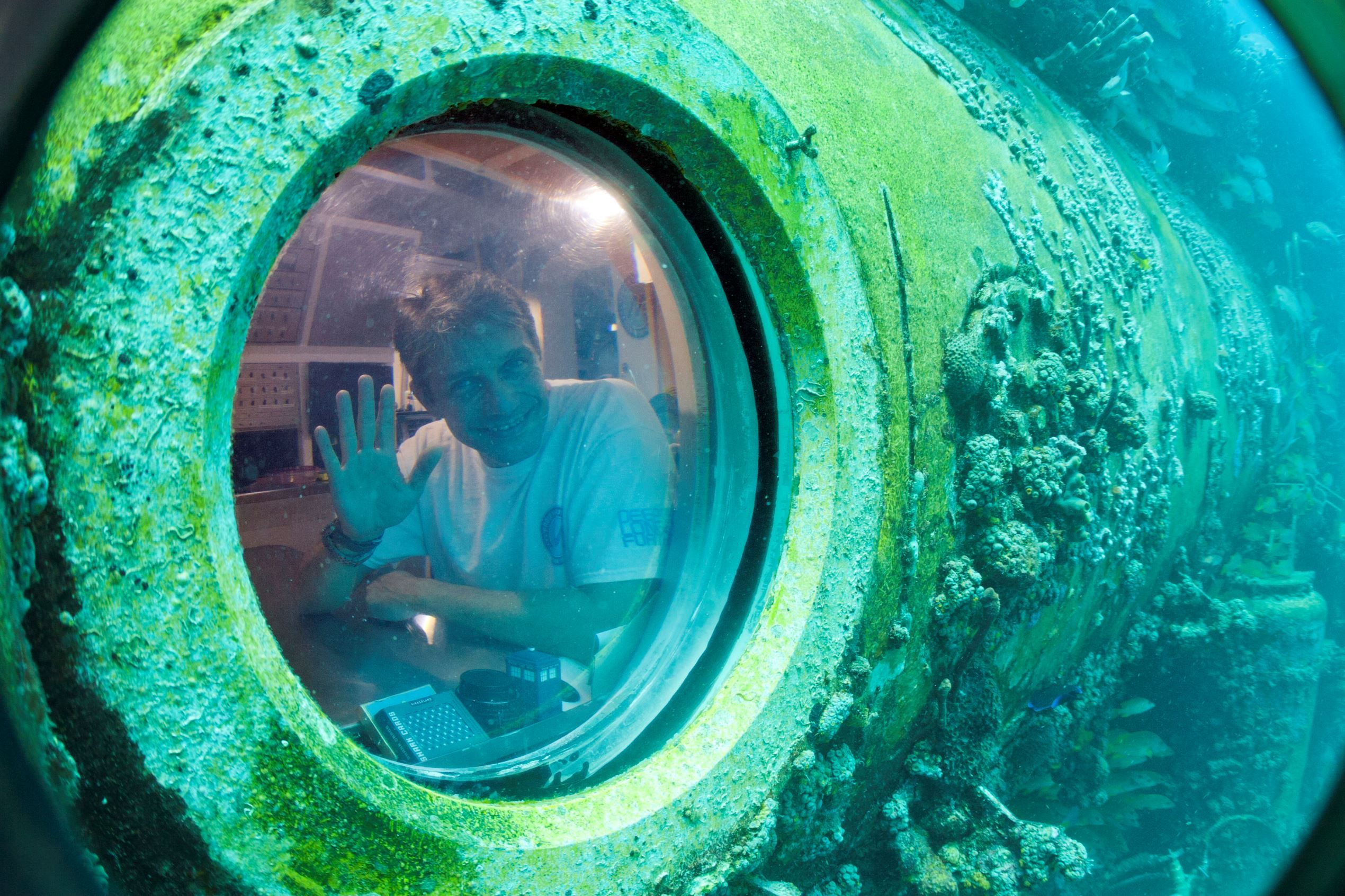 June 1: Fabien Cousteau begins Record-Breaking 31 Days Under Water-he is the grandson of famed ocean explorer Jacques (who I grew up watching on TV) and went to live on the undersea laboratory Aquarius, 19.2 (63ft) below the surface in the waters off Key Largo, in Fla. Keys. He spent his time studying the effects of climate change and pollutants, such as fertilizers, on the reef.