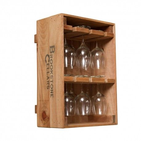 Wine Crate 12 Wine Glass Holder Wine Crate Wine Glass Holder Wine Crate Furniture