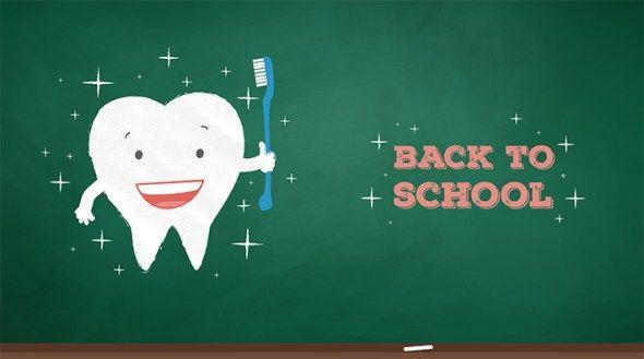 Back To School Dental Tips Dental Fun Dental Posts Dental Check Up