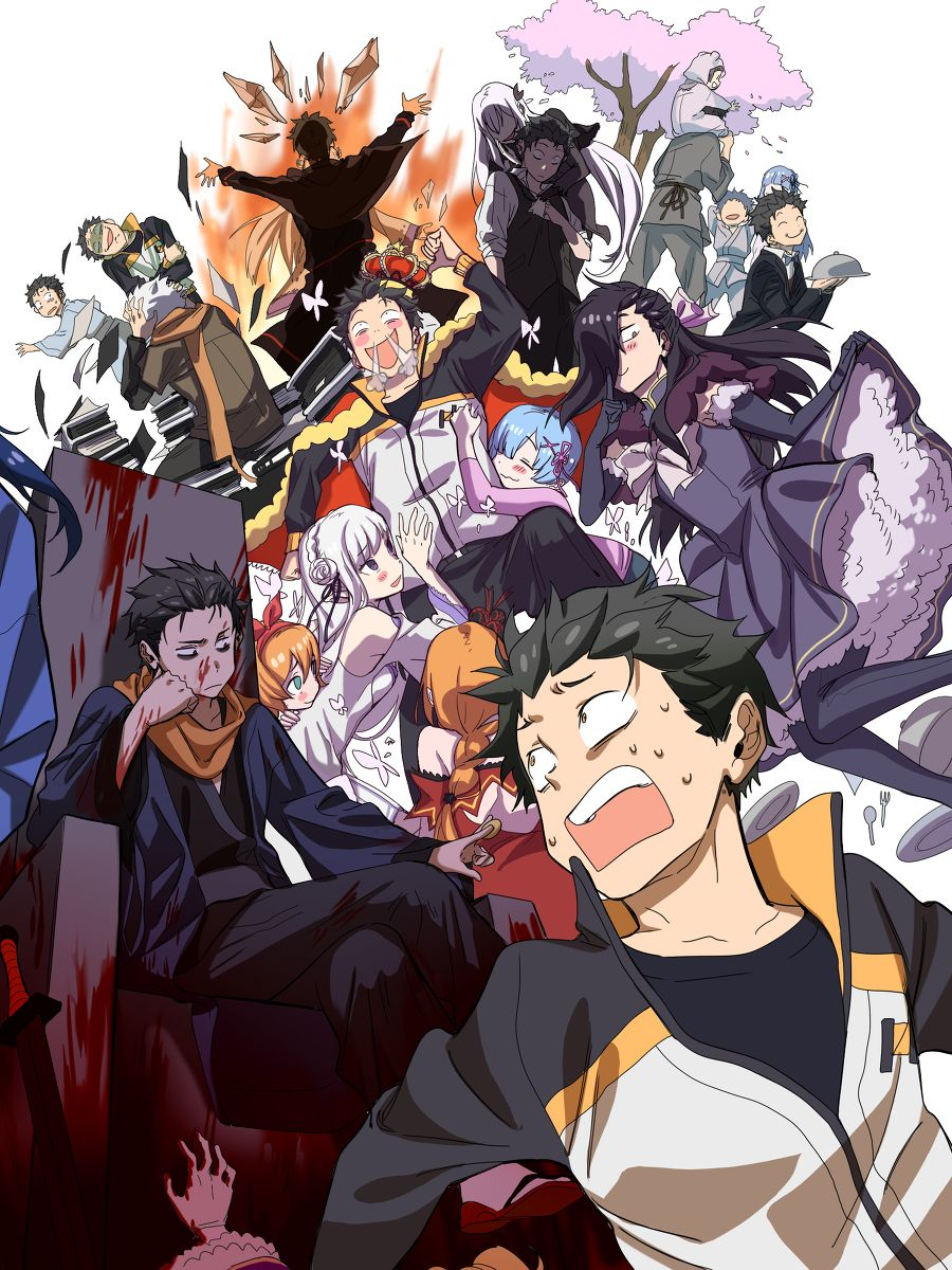 """""""IF"""" Life in Another World em 2020 Re zero, Anime"""