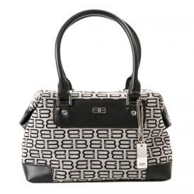 70d76f30b8 Vintage Balenciaga BB Boston Bag Handbag, Black/Ivory | Vintage ...