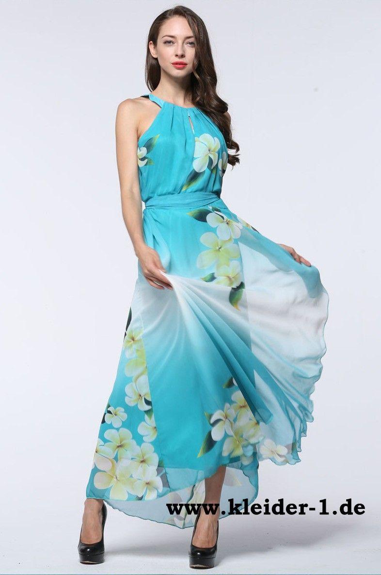 Elegantes Chiffon Sommerkleid | Mode für Frauen | Pinterest ...
