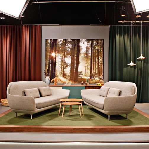 Big Sofas + Picture Background